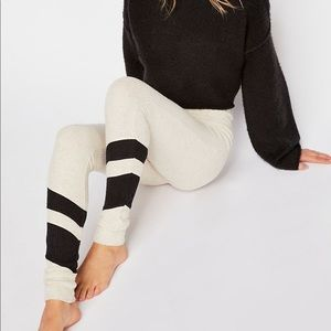 Free People Fireside Ribbed Sweater Leggings